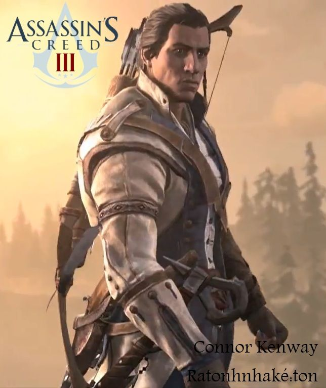 """Assassin's Creed III. Personajes. Connor """"don't touch me ..."""