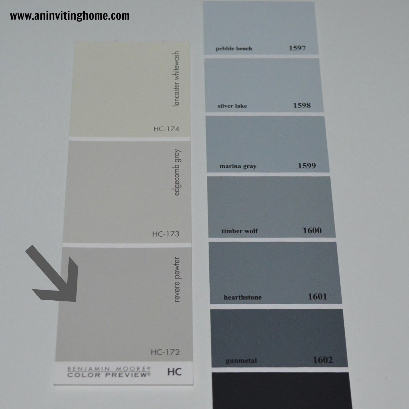 An inviting home 4 tips to selecting the right gray paint for Grey white paint colors
