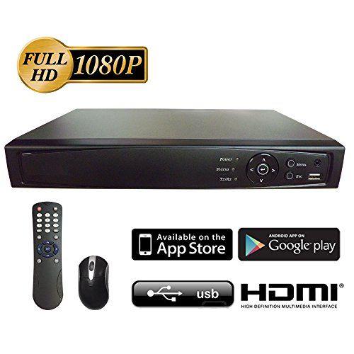 16ch Hdtvi Ahd H264 Truehd Dvr W 2tb Hdd 1080p Up To 2560 X 1440 Hdmi Vga Outputbnc Mobile Phone Access Digital Video Recorder Tvi Video Surveillance Cameras