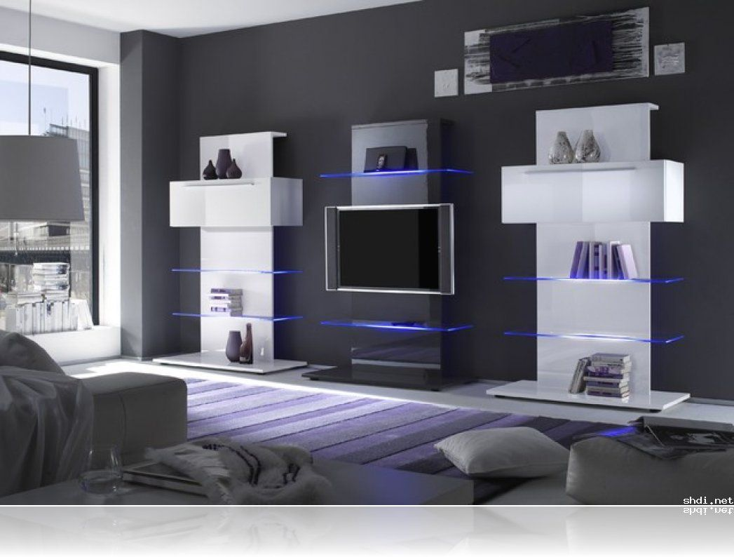 Primo Italian TV Stand And Tower