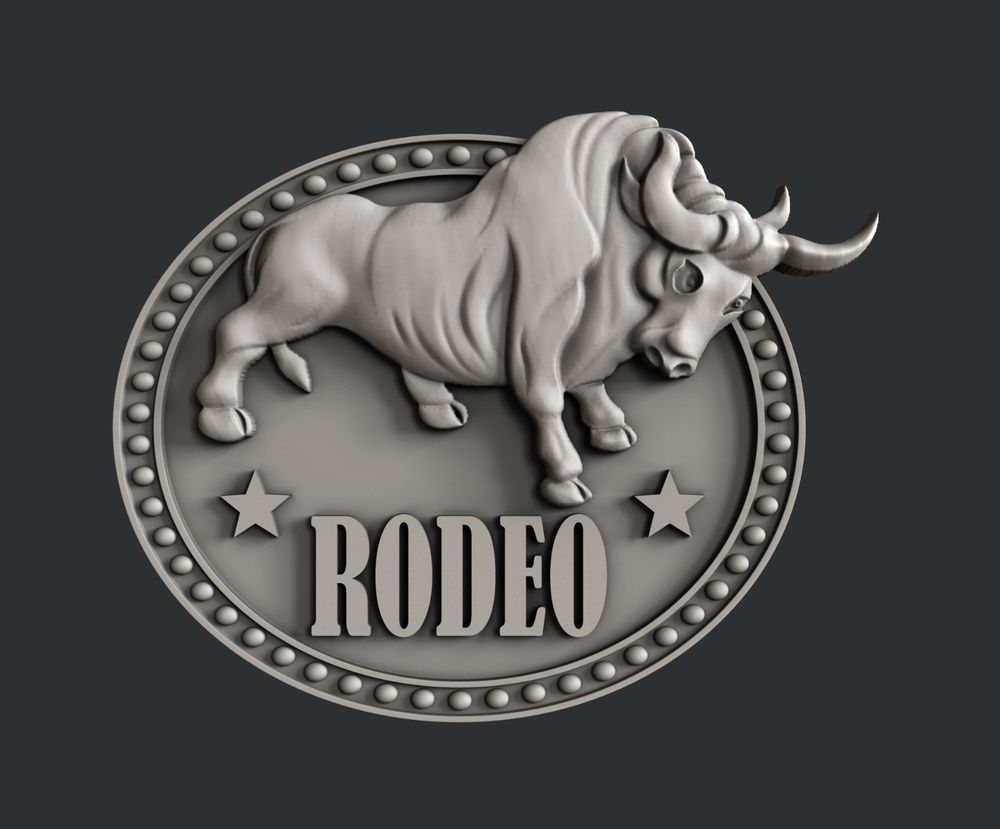 3d Stl Models For Cnc Artcam Aspire Relief Rodeo In