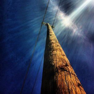 Power Pole - Image shot and edited with iPhone4