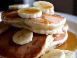 Recipe Banana Sour Cream Pancakes Ina Garten Culinate Sour Cream Pancakes Sour Cream Recipes