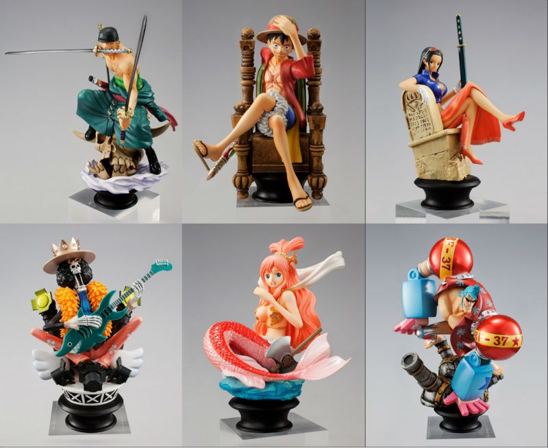 Free shipping one piece chess piece collection figure set