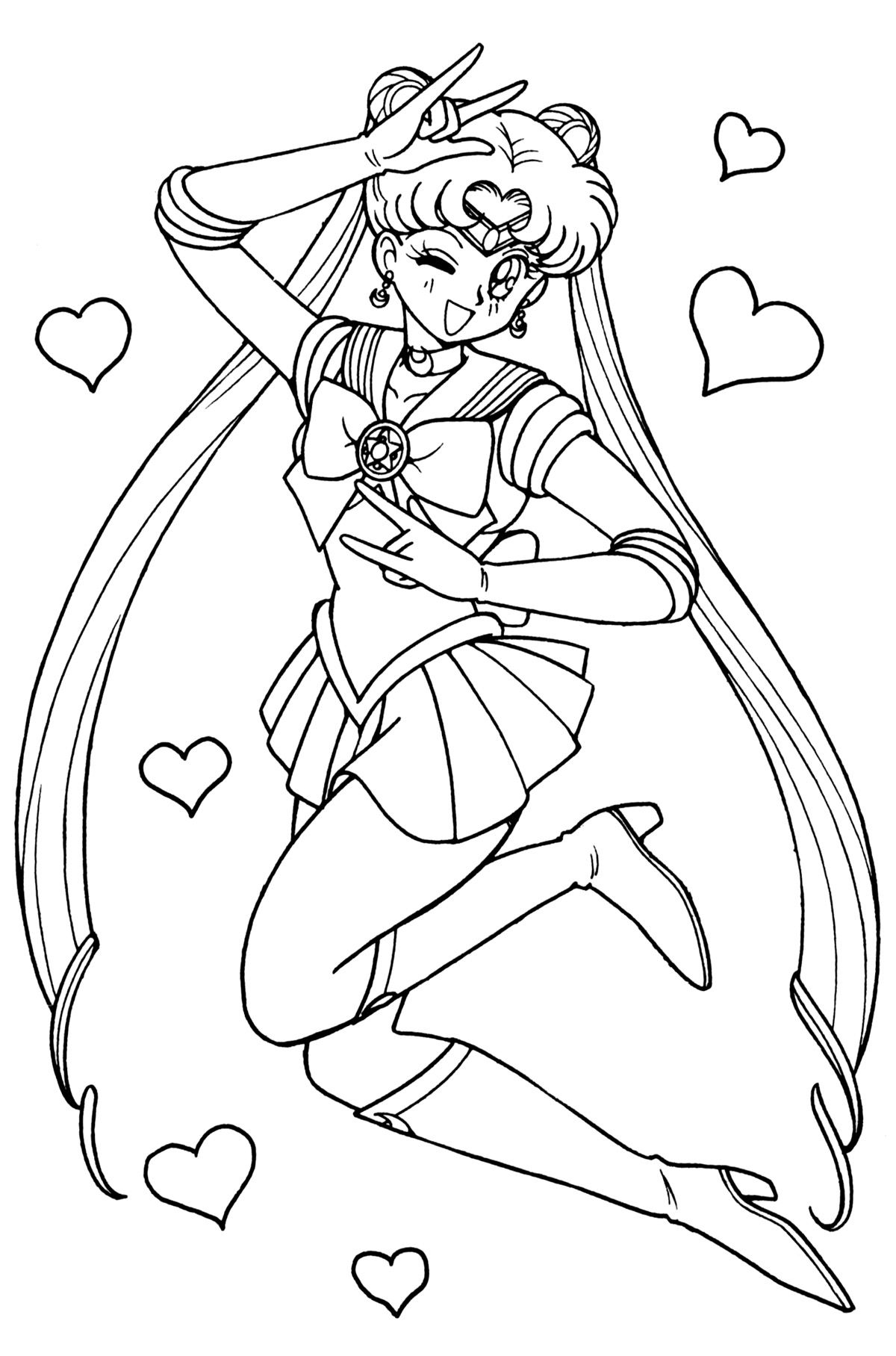 Coloring Page Sailormoon Coloring Pages 26 Sailor Moon Coloring Pages Sailor Moon Wallpaper Coloring Pages