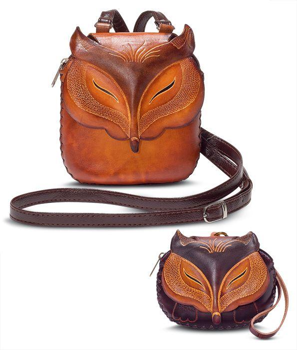 078e64192f3 Fox purse and coin purse | GaelSong | Foxes!!!! in 2019 | Fox purse ...