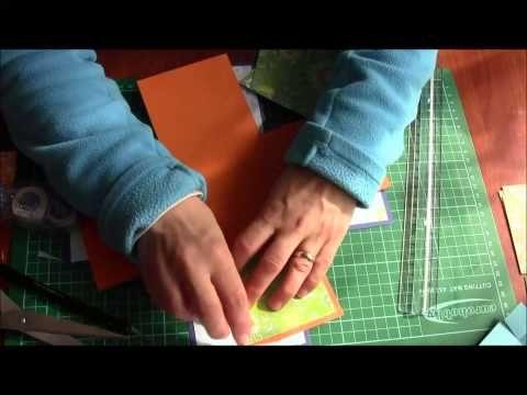 Scrapbooking tutorial : exploding box - YouTube