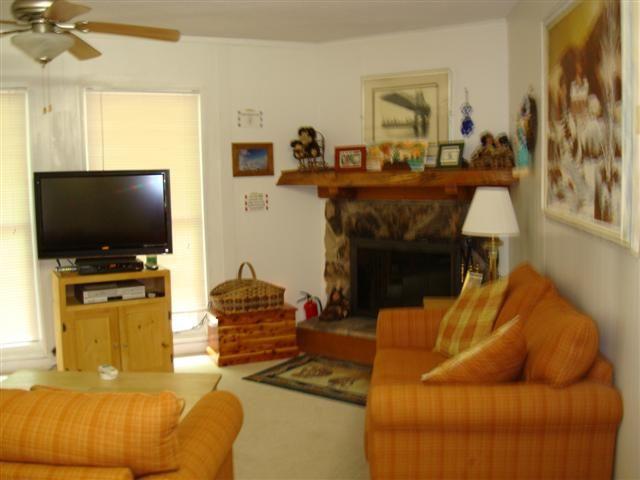 BVA4- 2 bedroom condo in Beech Mountain, NC, pet friendly, 1 queen, 1 sofabed, WIFI, NON-SMOKING!