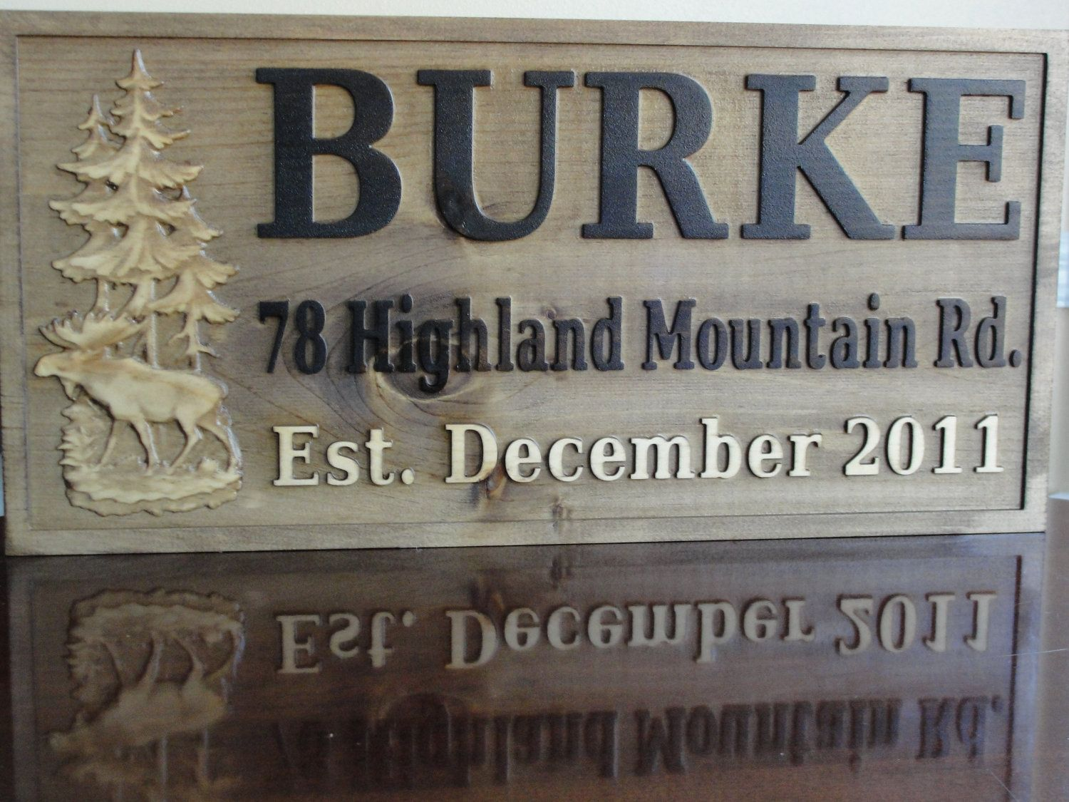 personalized family name signs carved custom wooden sign last name
