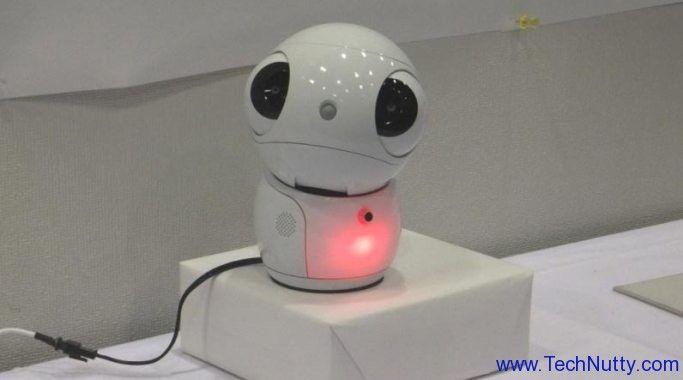 Robot Talking to You | Toshiba introduces ApriPetit – a Robot that talks to you