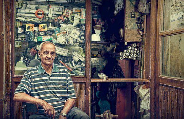 Egyptians people by AO STUDIO, via Behance