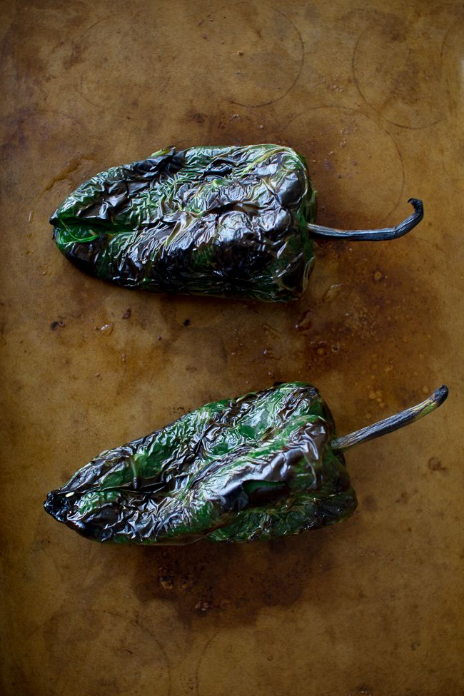We Be Grillin' Poblano Peppers and Corn   The Flourishing Foodie