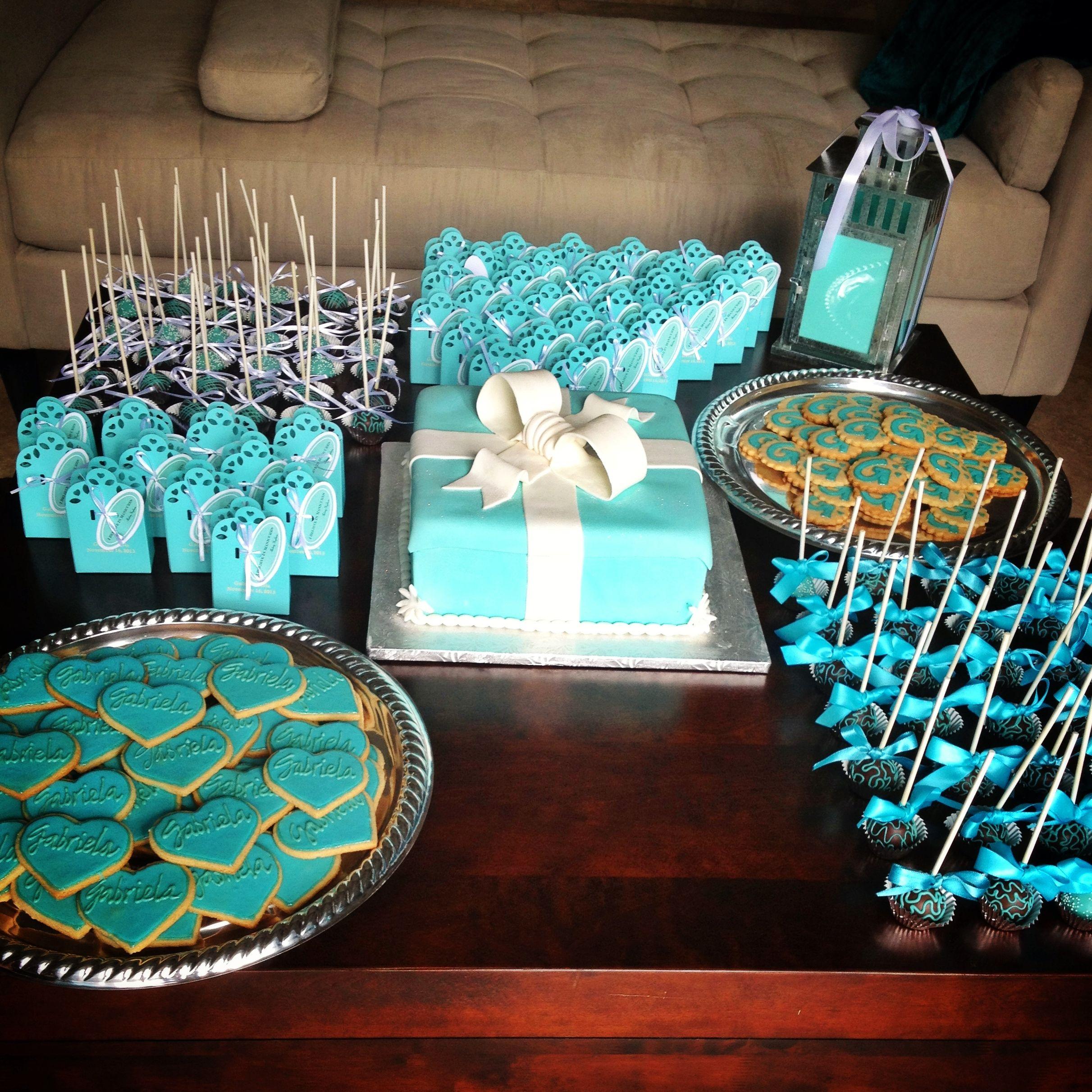 Tiffany Wedding Ideas: Breakfast At Tiffany's Themed Baby Shower Was A Success