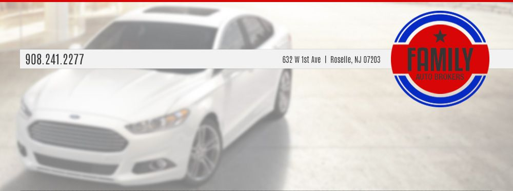 FAMILY AUTO BROKERS Roselle, NJ Ford expedition