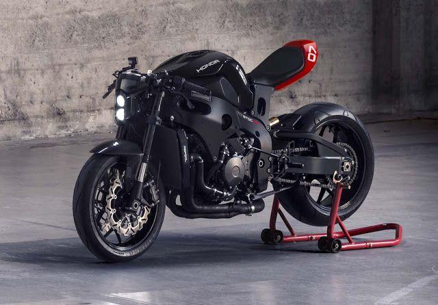 Rocketgarage Cafe Racer Huge Moto Custom Motorcycle Kit Projects