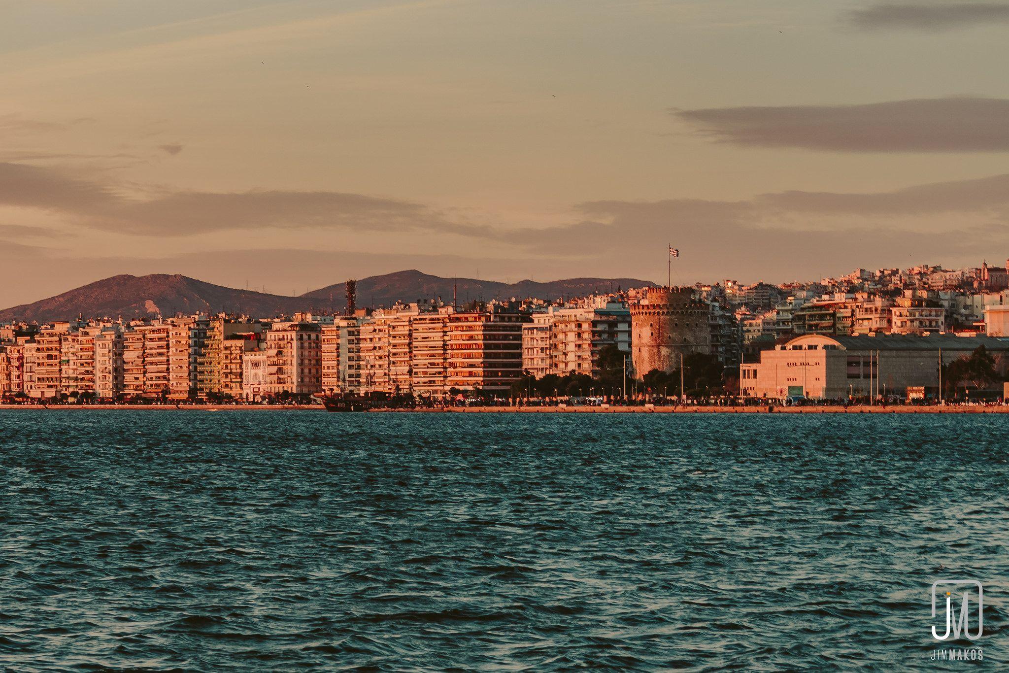 Golden hour in thessaloniki thessaloniki golden hour
