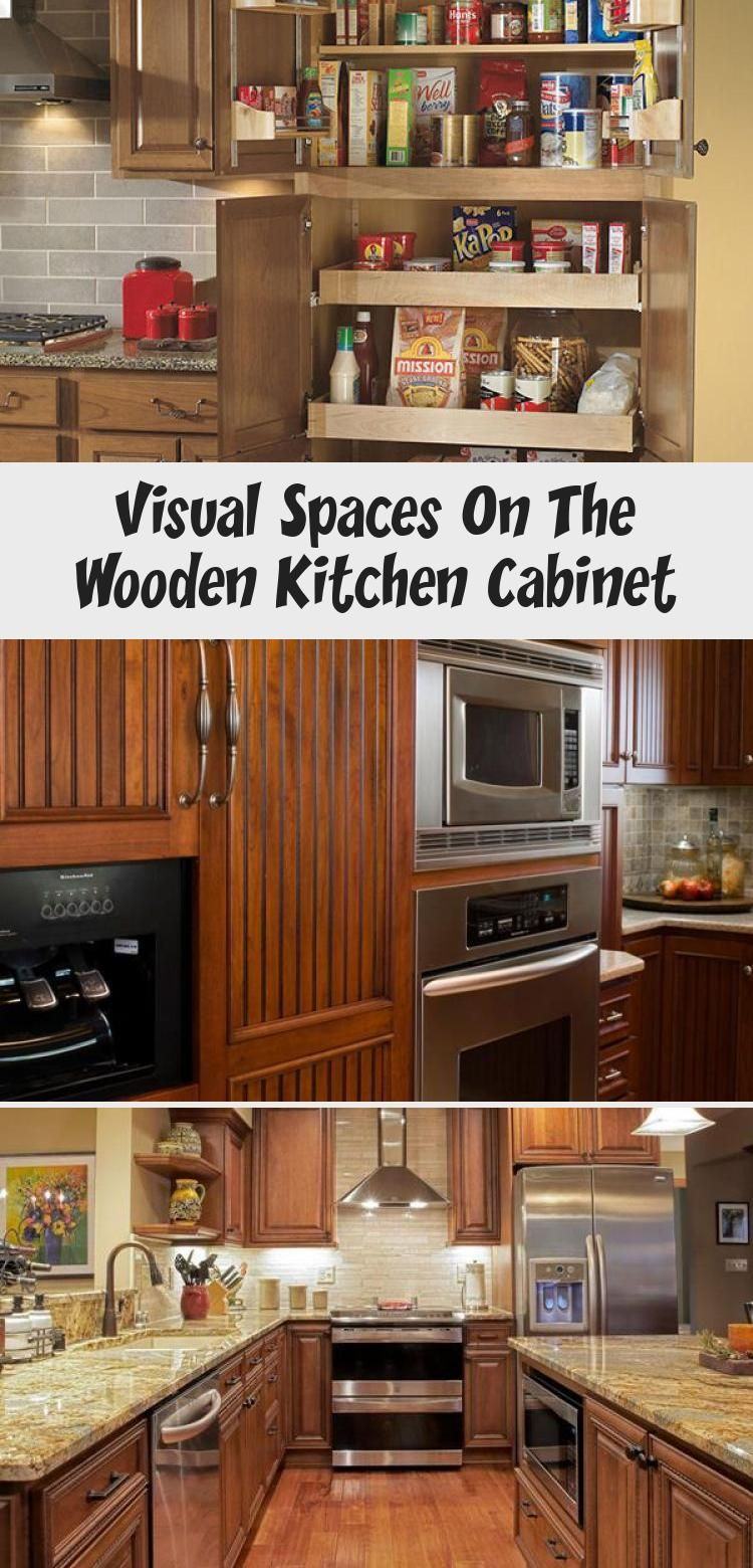 Best Visual Spaces On The Wooden Kitchen Cabinet Wooden 400 x 300
