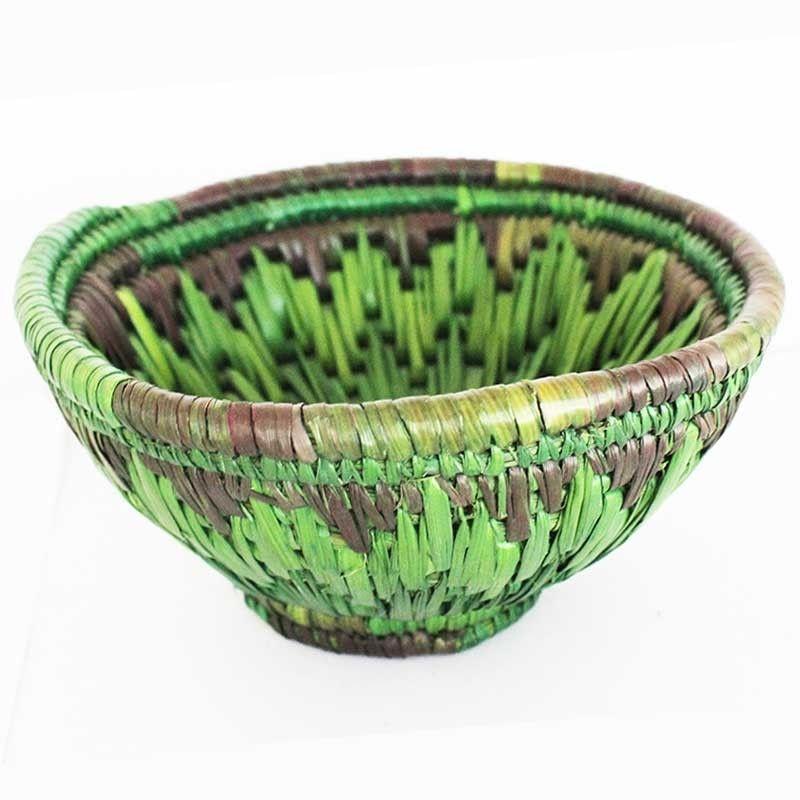 Buy Green Moonj Basket Online  Indian Handicrafts