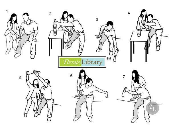 Sitting Balance Activities for Hemiplegics Pinned by SOS