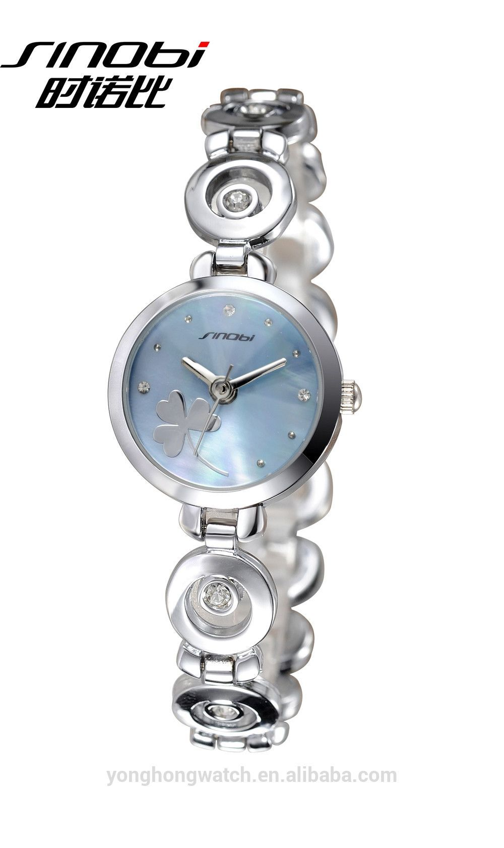 S9495L Metal band with crystal accent fashionable women's watch