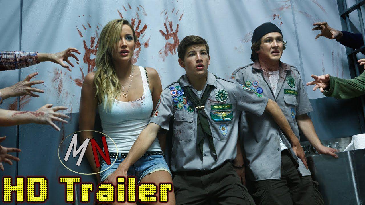 Scouts Vs. Zombies Trailer German