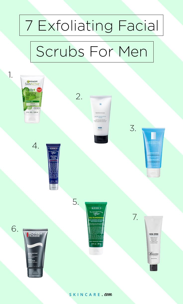 7 Best Exfoliating Facial Scrubs For Men Exfoliating Facial