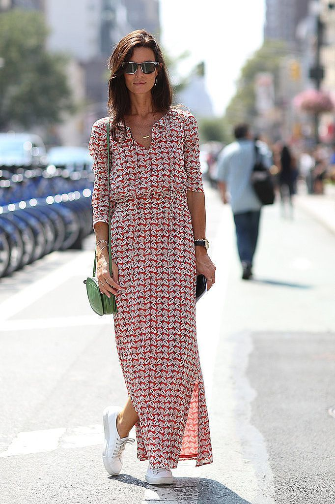 59 Smartest Ways to Combine your Sneakers with Dresses