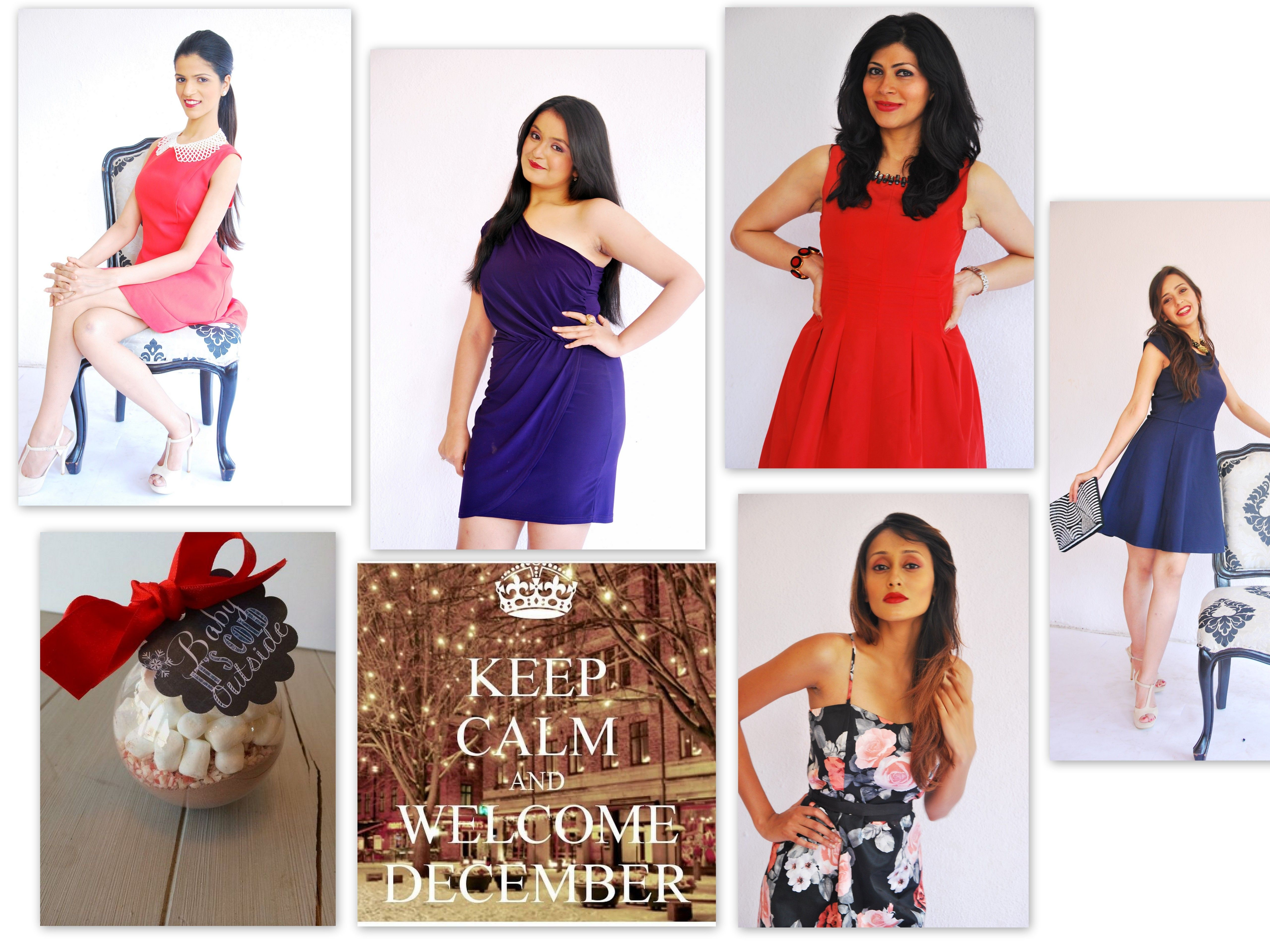 dea45a0a6e2 Happy December Ladies!! It s Party time.. Glam up   put lovely short ...