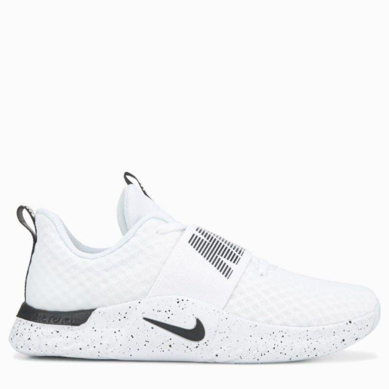 Nike damen in saison 9 training schuhe weißschwarzgefleckt