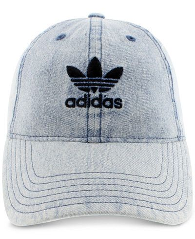 545709acbe2 adidas Originals Cotton Relaxed Washed Strap-Back Hat