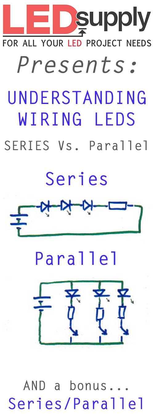 Awesome Wiring Leds Correctly Series Parallel Circuits Explained Led Wiring 101 Cominwise Assnl