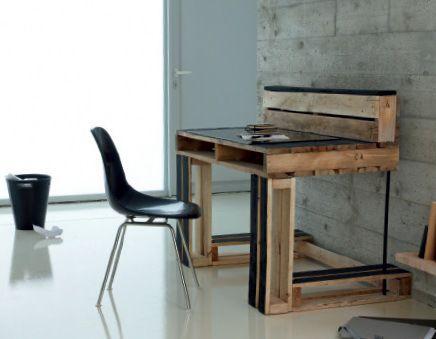 Bureau recup bureau tendance bois recyclé et bureau