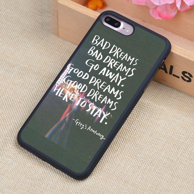 Click To Buy Greys Anatomy Quotes Style Printed Soft Rubber Phone