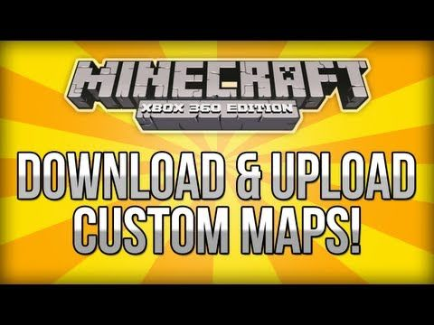 Minecraft (Xbox 360) - How To Download & Upload Custom Maps ...