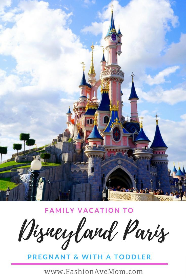 Disneyland Paris Pregnant and with a Toddler