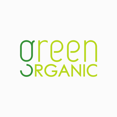 Designs Logo For Pure And Natural Green Organic Company Logo