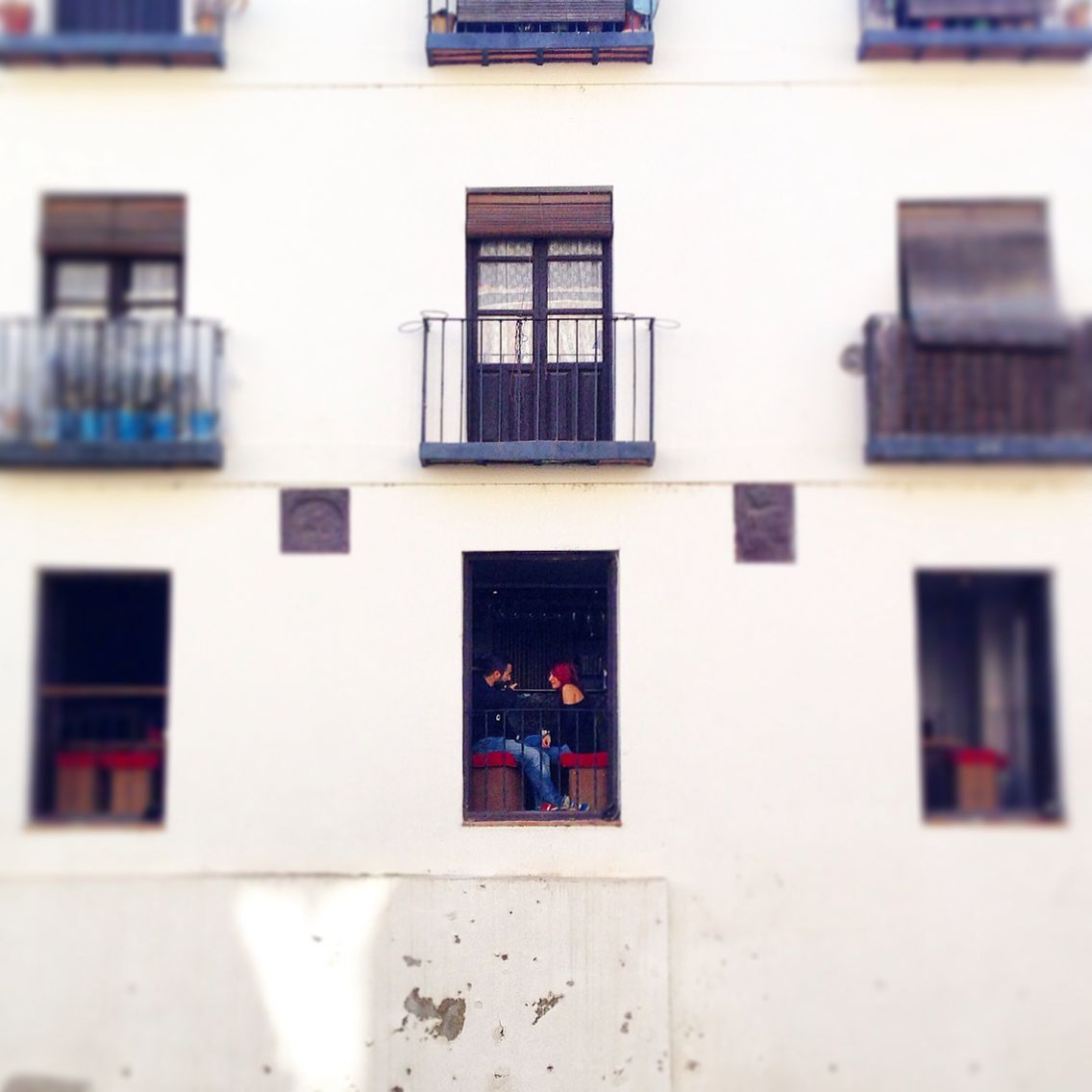 Granada. Paseo de los tristes