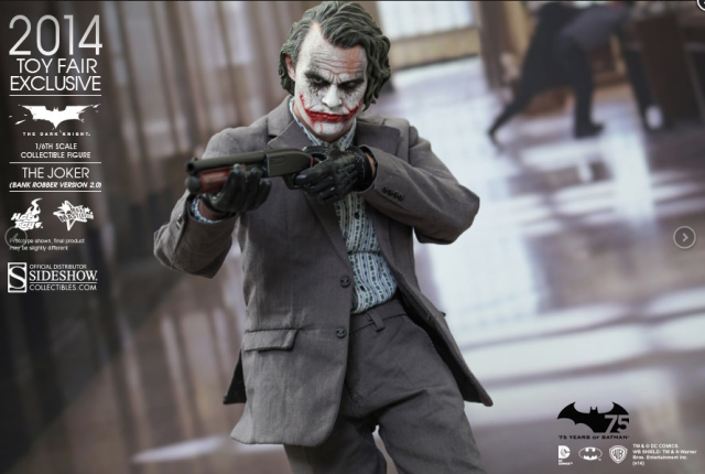 Sideshow Collectibles: Joker Bank Robber 2.0