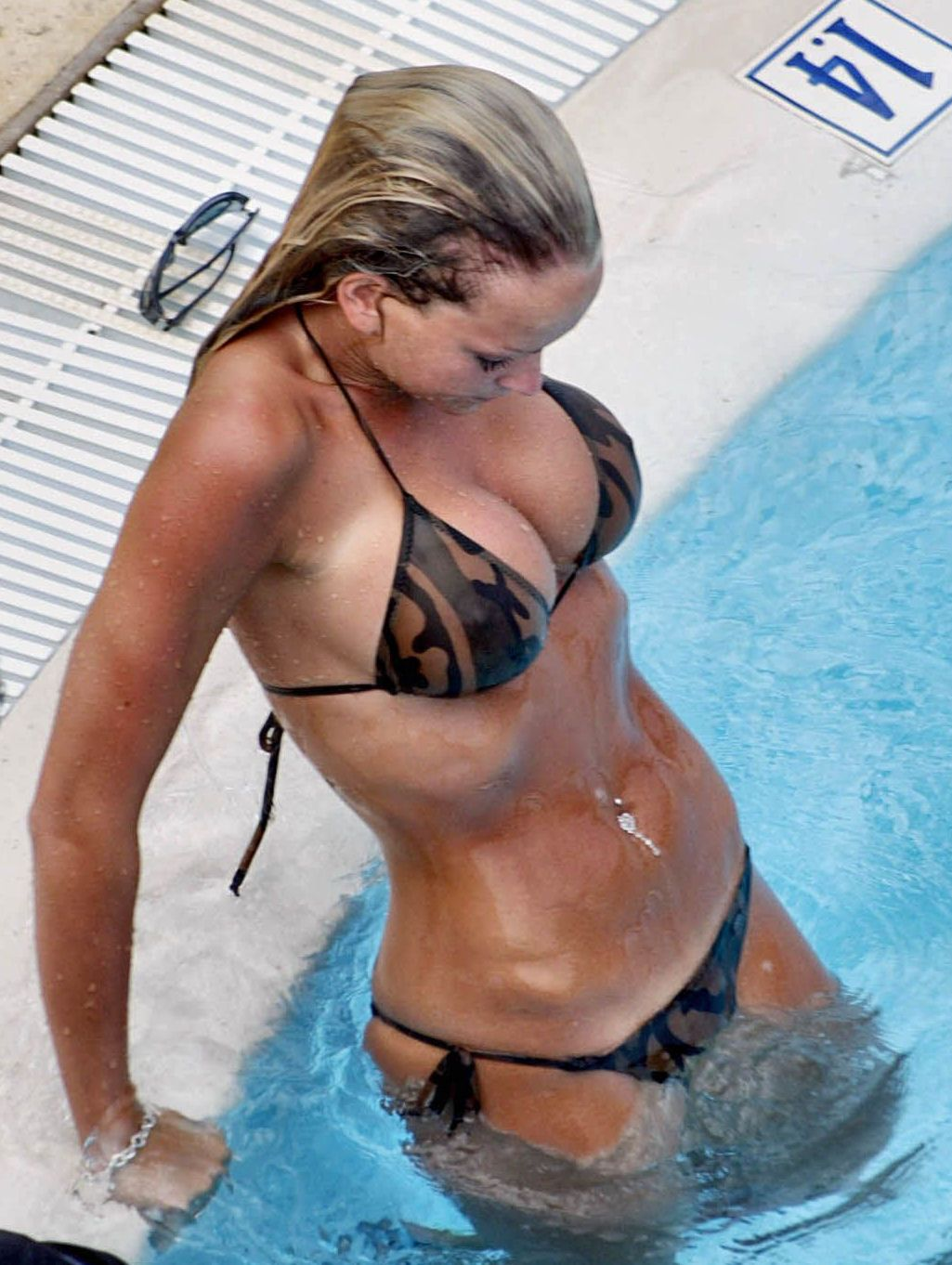 Jennifer ellison bikini speaking