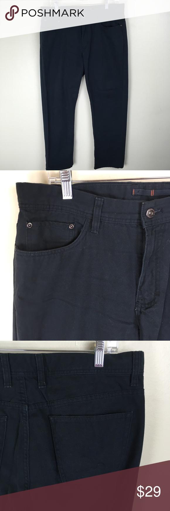 7cca32bdbdf8 Weatherproof 34x30 Cotton Canvas Work Jeans Pants WP Weatherproof Vintage  quality cotton canvas 5 pocket jean