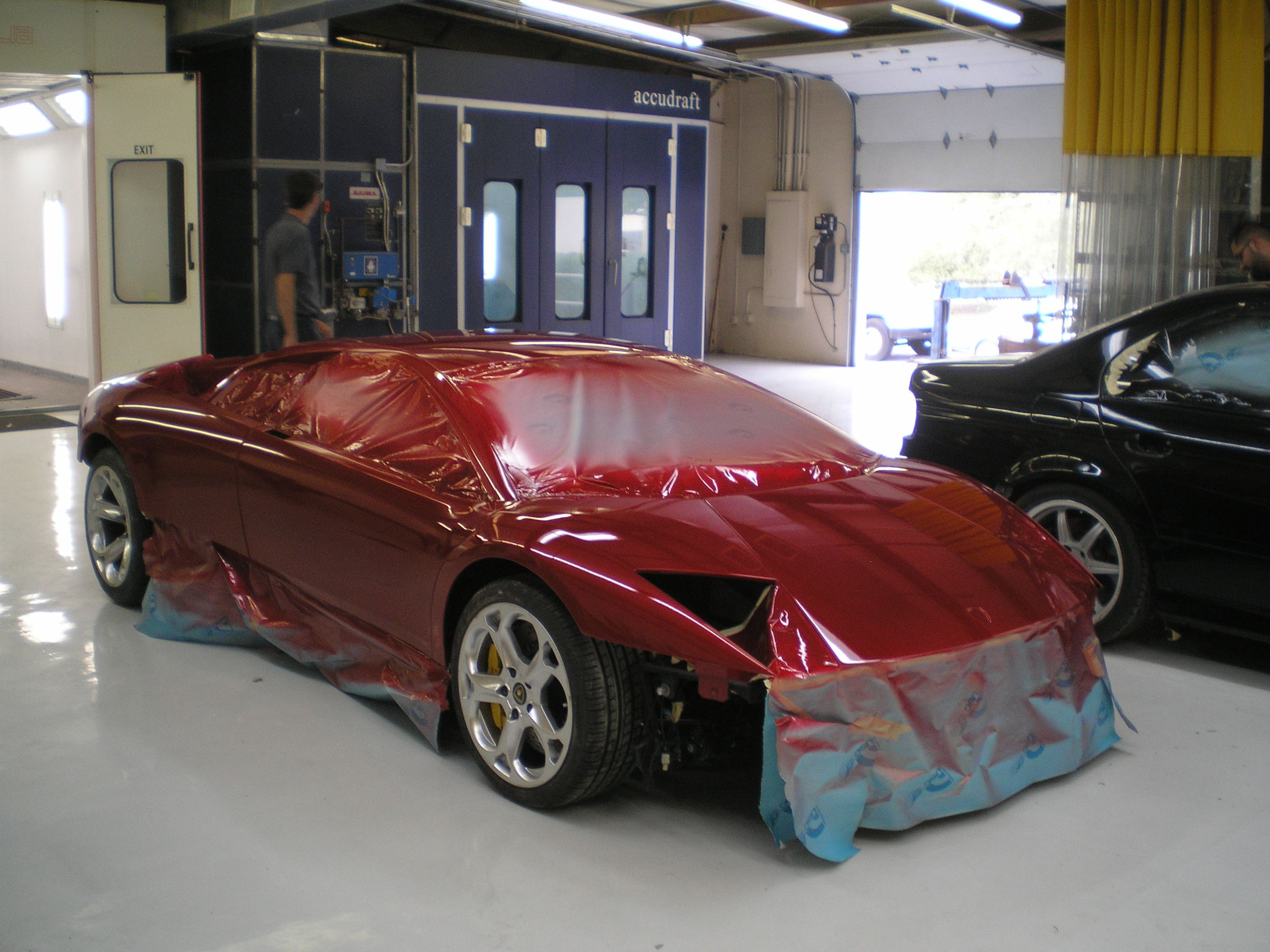 Pin On Exotic Car Collision Paint