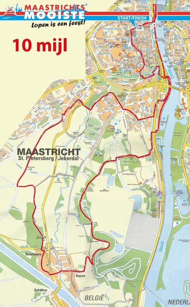 Parcours - Maastrichts Mooiste Hardlopen - Lopen is een feest!