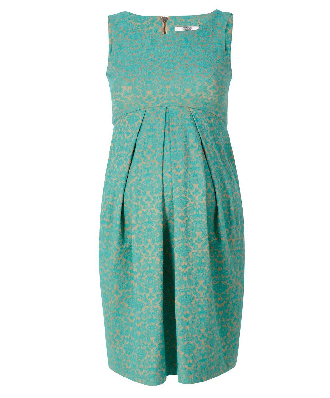 Jacquard Pleated Shift Dress - Dresses | Skirts | Tunics - Mamas ...