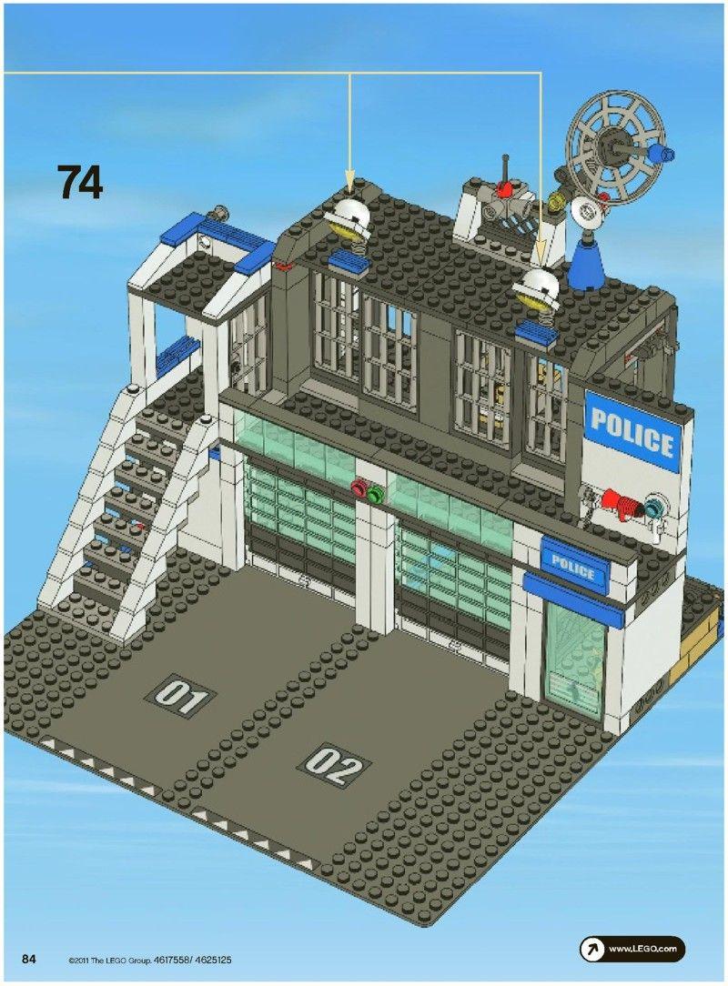 City Police Station Lego 7498 Lego Police Station Police Station Lego City Sets