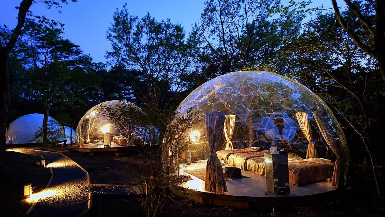 グランピング 那須高原towaピュアコテージ 那須ハイランドパークオフィシャルホテル グランピング コテージ テント