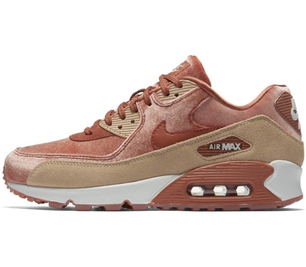 photos officielles 4d047 6a484 Nike - Air Max 90 LX Femmes espadrille (brun) | Style = to ...