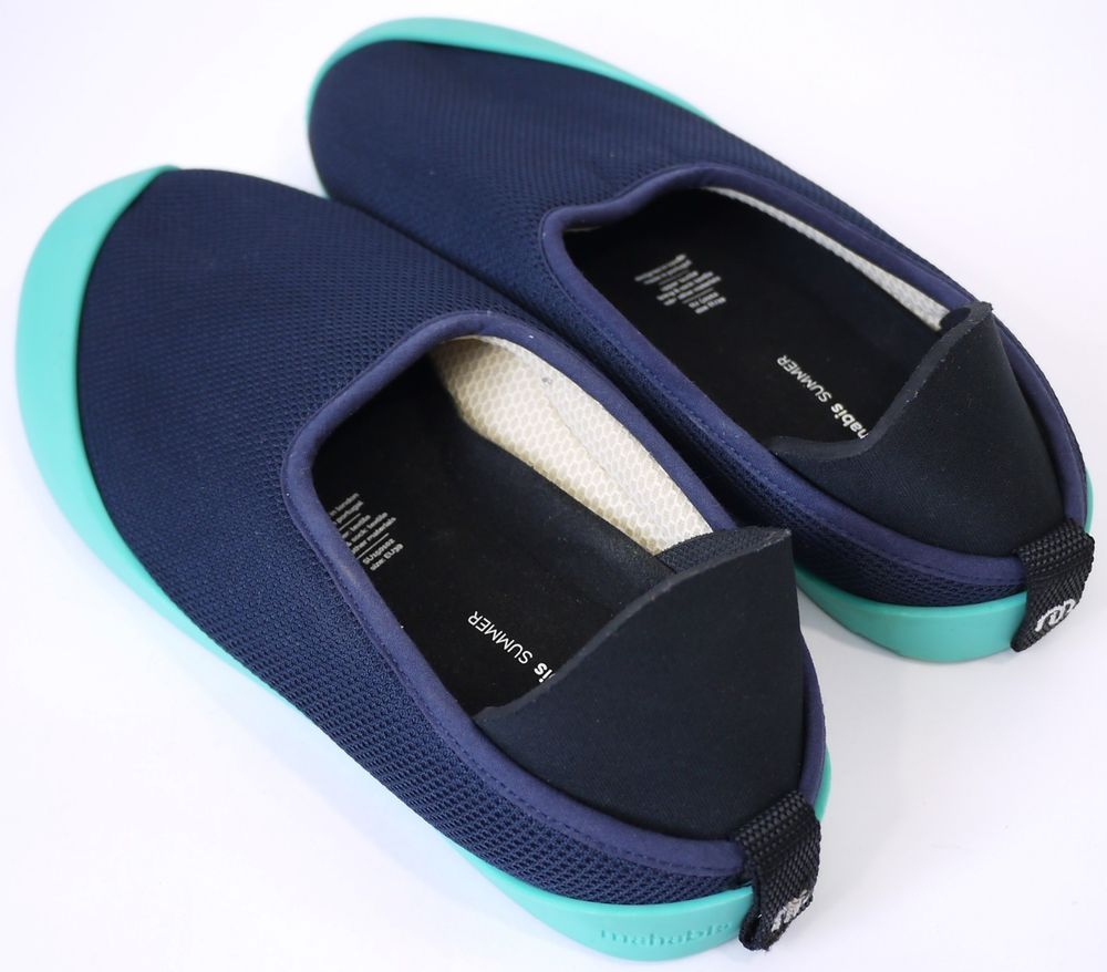 0c4a5e1b058 Mahabis Womens Shoes Size-39 uk-6 Summer Nuvy slippers with blue Detachable  sole