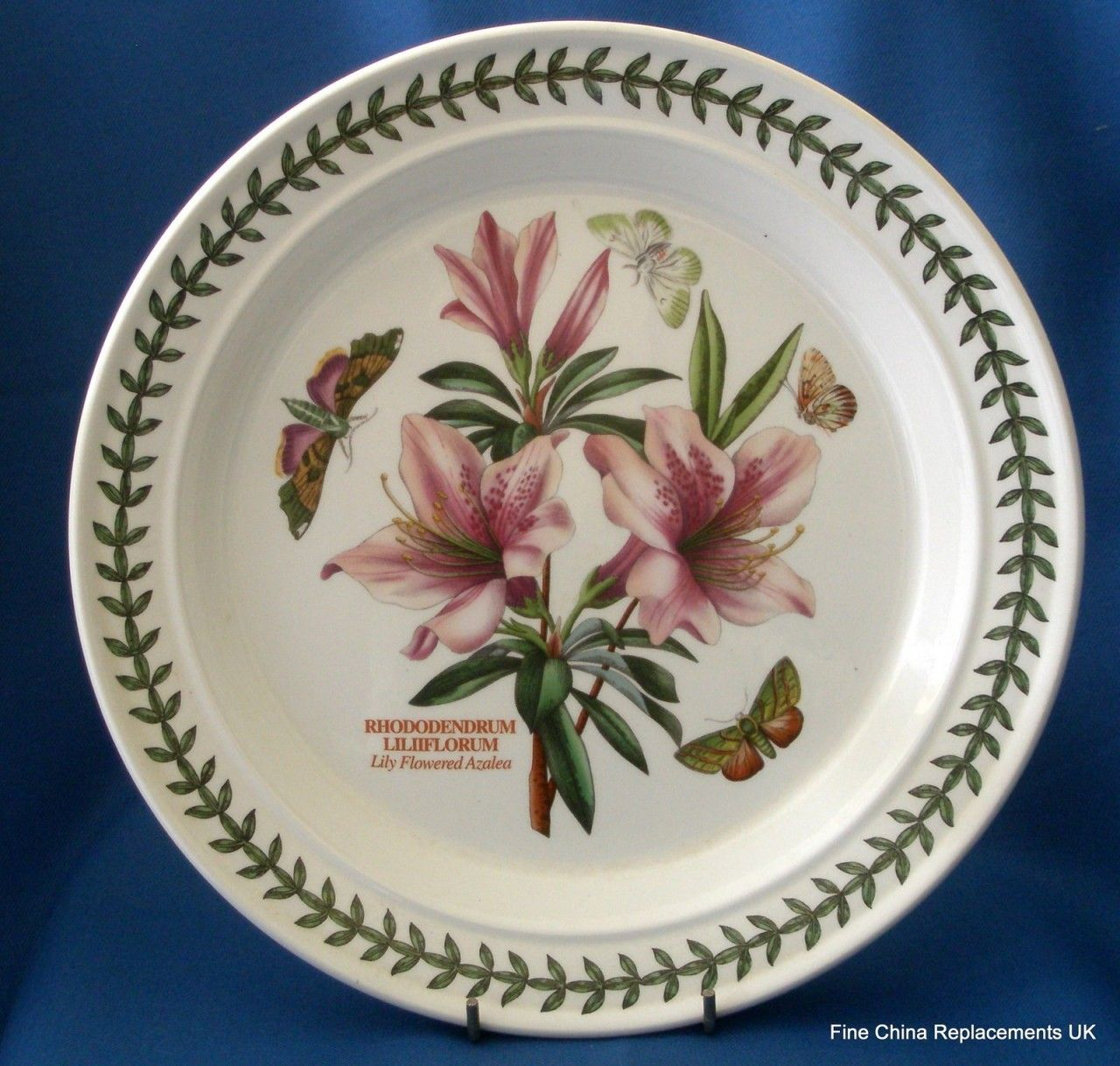 Fine China Replacements UK - Portmeirion Botanic Garden Dinner Plate (// : botanic garden dinner plates - pezcame.com