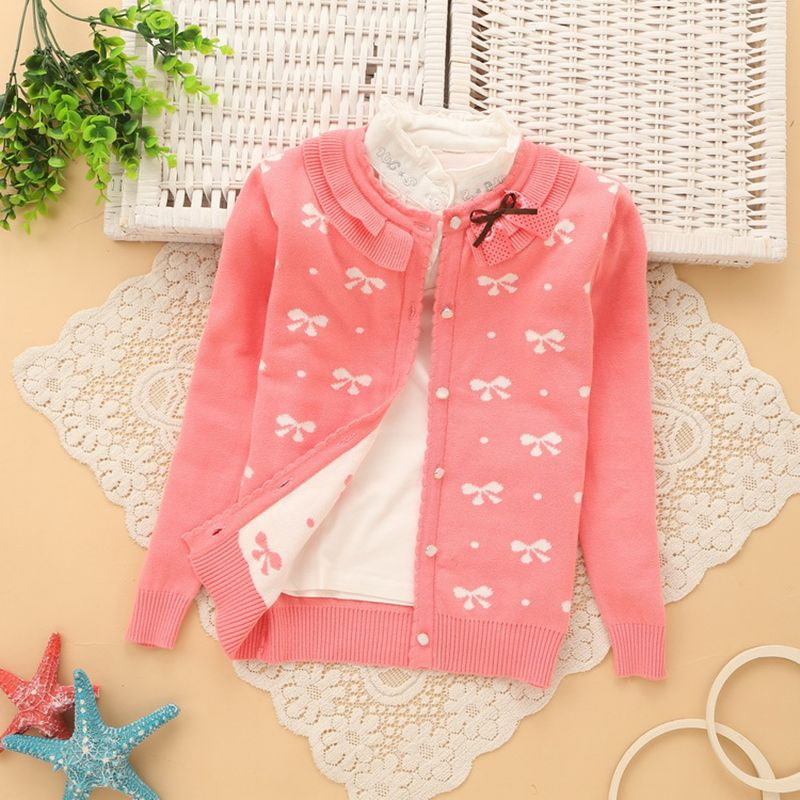 128ab172718e 2016 New Autumn Winter Baby Girl Sweater Casual Style Girl Cotton ...