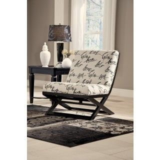 Ashley Furniture Signature Design Levon Charcoal Showood Accent Chair At Big  Sandy Superstore